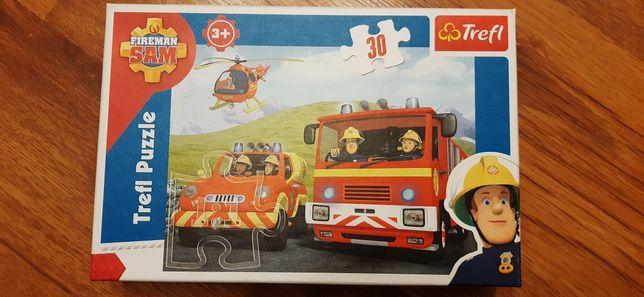 Puzzle strażak Sam