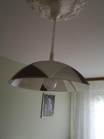 Lampa sufitowa wisząca żyrandol szkło żarówka E27 LED