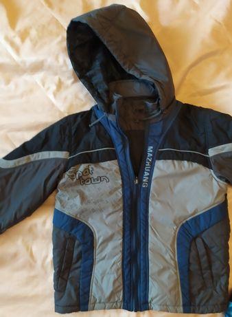 Продам куртку осень мальчик 7-9 лет