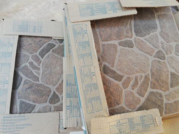 Плитка Golden Tile Cortile коричневая, остаток 6,4 м.кв.
