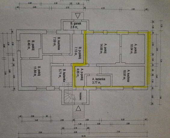 Mieszkanie 44 m2 do remontu