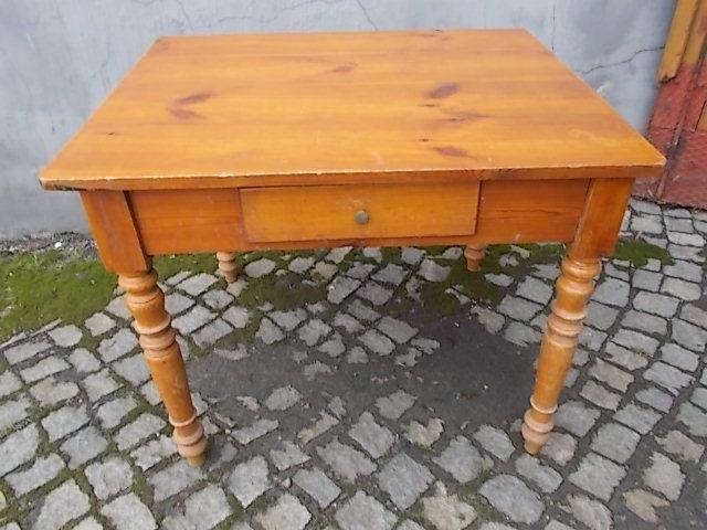 Stary stół sosnowy Głuchołazy - image 1
