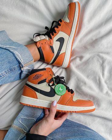 Мужские женские кроссовки Nike jordan 1 Retro 'Shattered Backboard 2.0