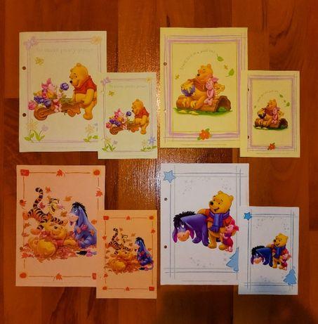 Karteczki Kubuś Puchatek - A5 i A6