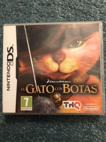Gato das Botas Nintendo DS