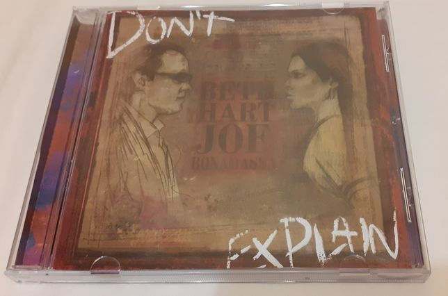 Audio CD Beth Hart, Joe Bonamassa ‎– Don't Explain.