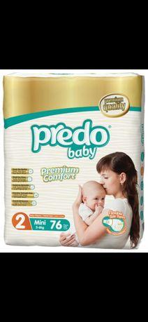 """Продам памперсы """"Predo baby 2"""" (3-6 кг) 59 шт"""