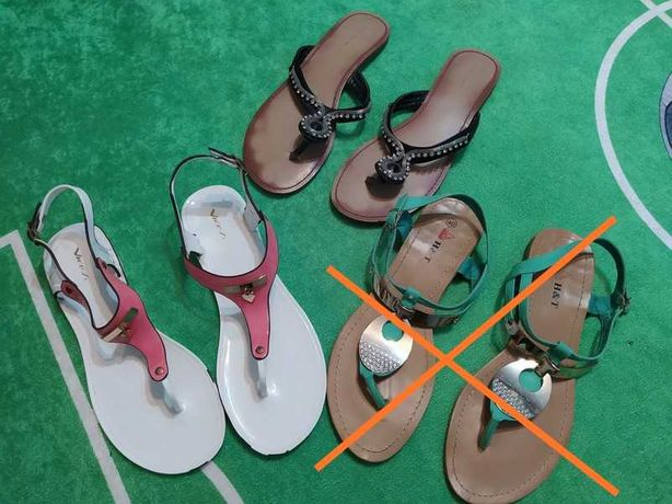 Japonki i sandały rozmiar 40
