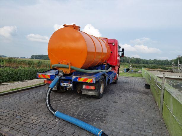 Scania 400 asenizacja szambiarka 10 m3