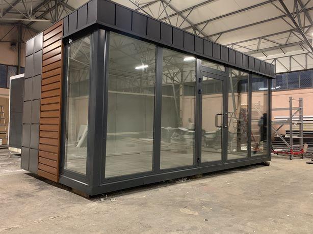 Pawilon handlowy biurowy sklep szklany 6x3 kazdy wymiar