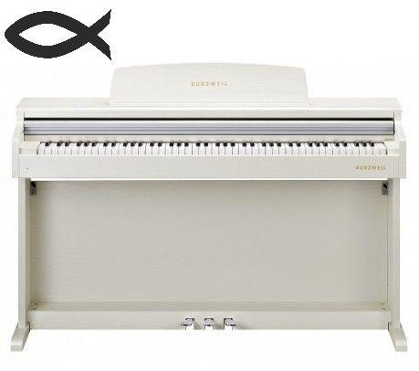 Цифровое пианино Kurzweil M100 SR-Wt M110 Wh, M210 Wh, Ka 130 Wh