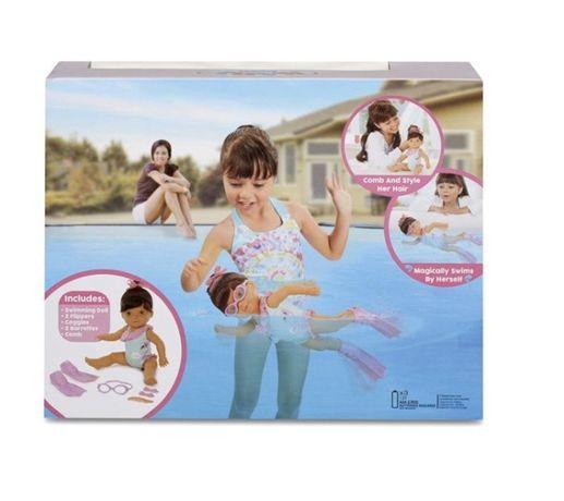Учимся плавать Интерактивная кукла Little Baby Born (для купания)