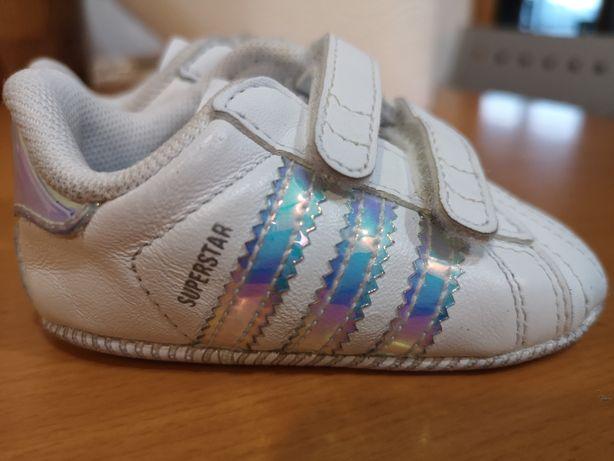 Sapatilhas Adidas  Superstar bebé originais