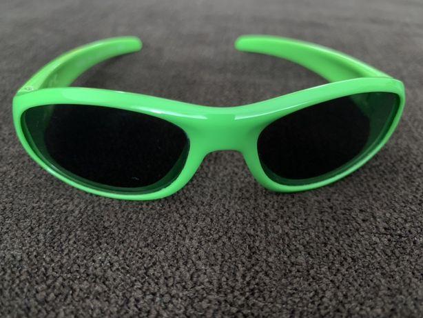 Okulary przeciwsłoneczne dziecięce unisex 0m+ CHICCO Fluo Green