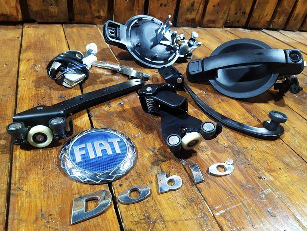 Ролик здвижной двери замок ручка Разборка Fiat Doblo Фиат Добло