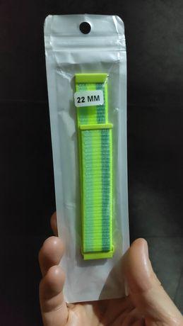 Pulseira de relógio desportiva 22mm