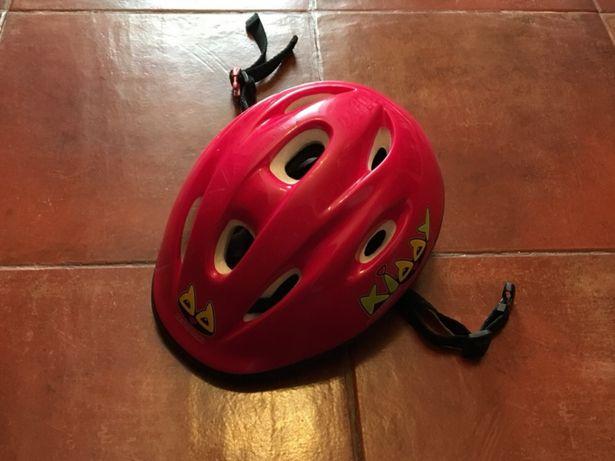 Capacete para criança - bicicleta, skate, patins...