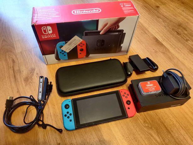 Konsola Nintendo Switch zestaw