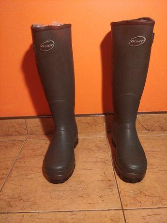 Gumowce graaf - buty myśliwskie/wędkarskie rozmiar 40