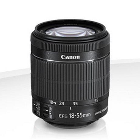 Obiektyw Canon EF-S 18-55 mm STABILIZACJA STM f/3.5-5.6 IS