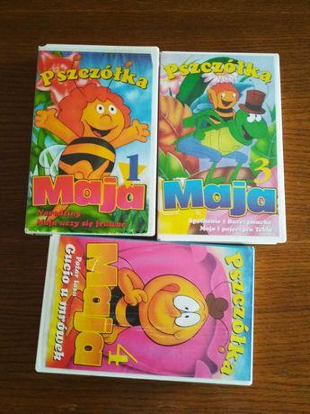 3 x Pszczółka Maja na kasetach VHS cz.1,3,4