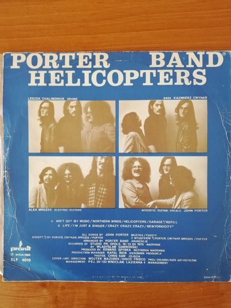 Porter Band Helicopters
