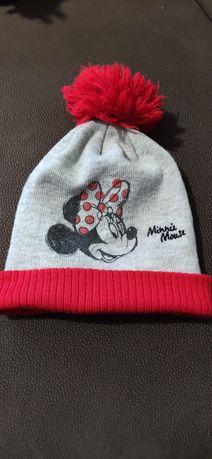 Czapka zimowa dziewczęca Disney Myszka Minnie
