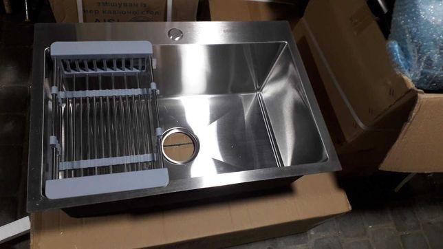 Оптові ціни! Кухонна мийка KRAFT HS6545 врізна Мойка з корзиною