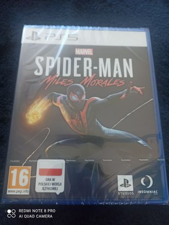 Gra PS5 Marvel's Spider-Man Miles Morales nowa