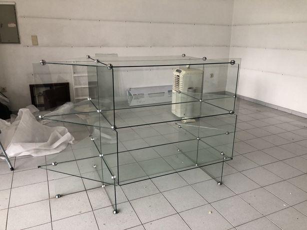 Montra de loja toda em vidro - super preço