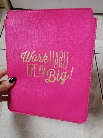 Чехол для планшета девчачий Work Hard dream big