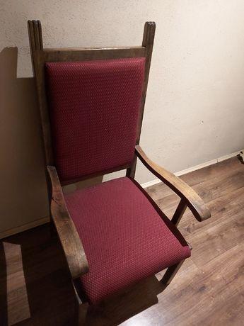 Fotele dębowe stan bardzo dobry stylowe