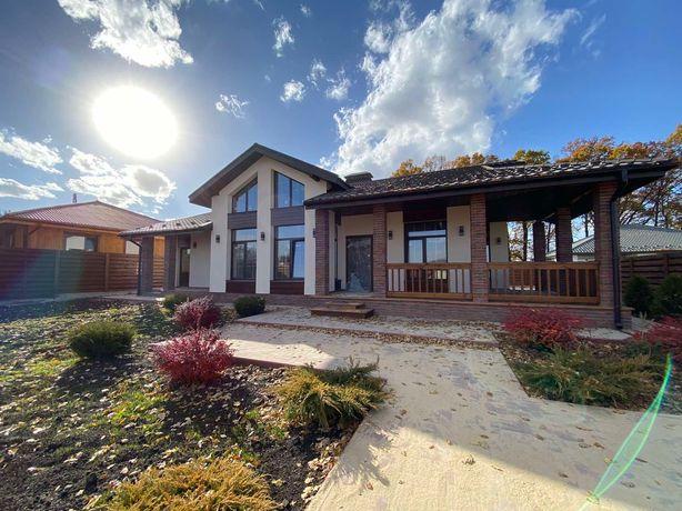 Готовый стильный дом с максимальной чистовой на участке 6 соток
