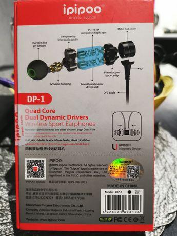 Bezprzewodowe słuchawki BLUETOOTH iPipoo