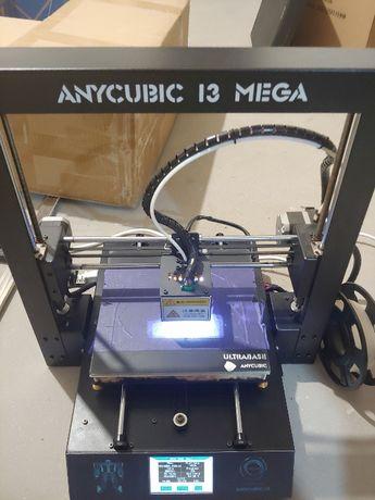 Drukarka 3d Anycubic I3 MEGA filament