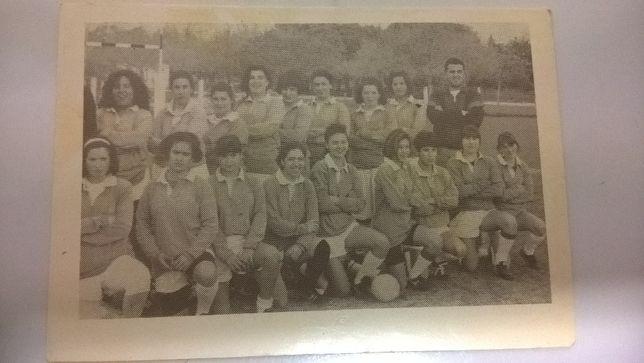 Calendário Antigo Equipa Feminina do Rugby C. Loulé