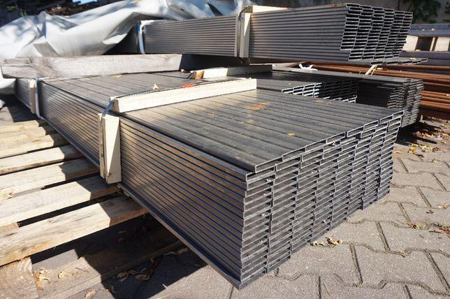Profil stalowy 30x10x1,5mm kształtownik, brama, palisada BYTOM