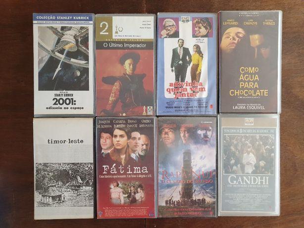 Cassetes VHS - Filmes, Disney, Documentários, Comédia, Infantil