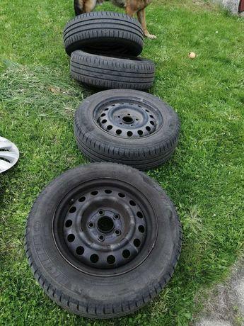 Koła letnie Michelin 195/65/15 91T felgi stalowe 15 5x114,3 et47