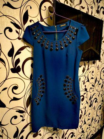 Платье синее на праздники