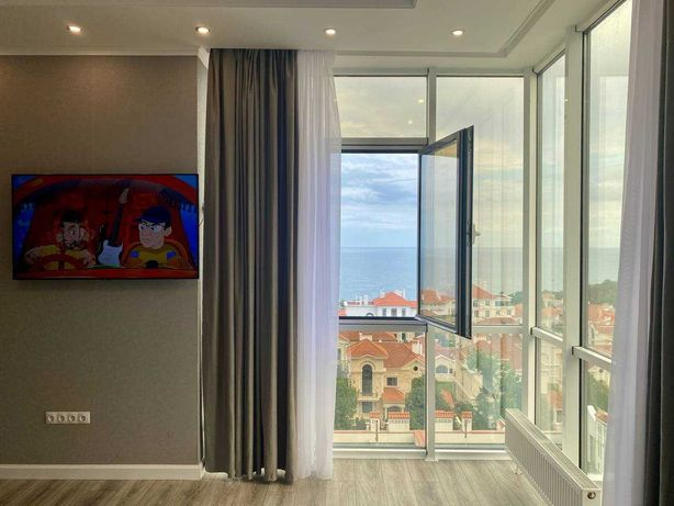 2-к квартира с видом на море на Французском бульваре! S
