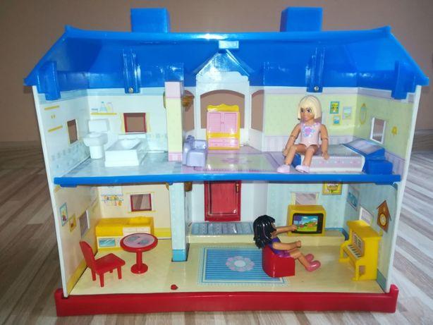 domek dla lalek z wyposażeniem