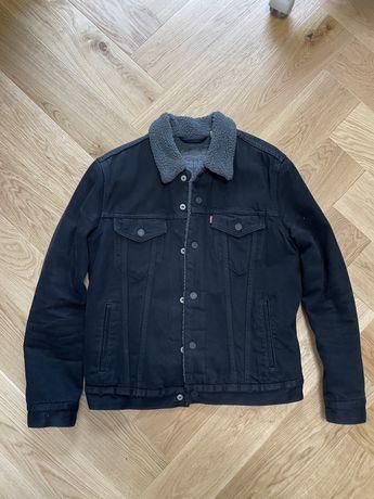 Levi's kurtka Katana sherpa jeans Levis denim rozmiar M
