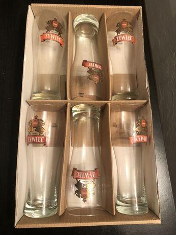 Nowy zestaw szklanek do piwa