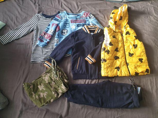 Ubranka kombinezony 80-86 dla chłopca