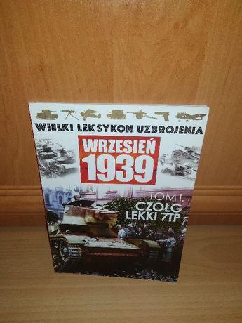wielki leksykon uzbrojenia czołg lekki 7tp książka