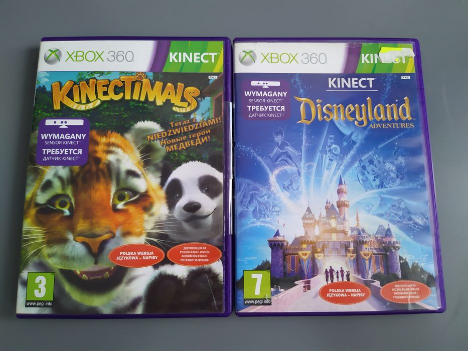 Kinectimals , Disneyland Adventures Xbox 360 kinect Wrocław - image 1