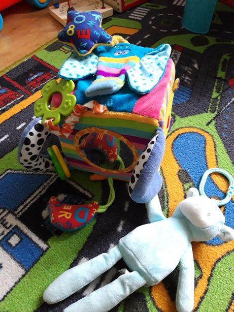 Edukacyjna, sensoryczna kostka baby mix