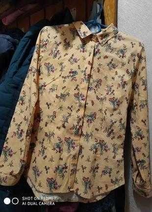 Блузка.рубашка.12-15 лет.в идеале.хлопок