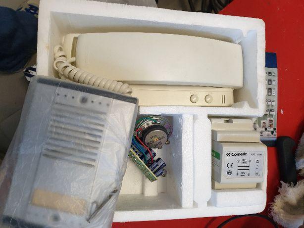intercomunicador comelKit 8201K-15-W completo, novo